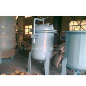 供应碳钢衬胶袋式过滤器