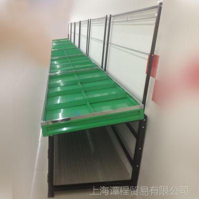 上海厂家供应1.6*.7*1.8m承重300kg便利店超市单面水果蔬菜货架