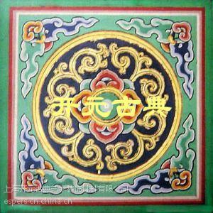 供应卷云(金、彩)-开元中式宫廷古典艺术、古建殿堂佛堂华美装饰