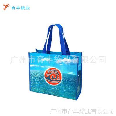 供应厂家定制防水覆膜手提编织袋 环保搬家编织袋 双面淋膜编织袋