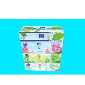 供应艺林广告盒抽 内蒙纸抽加工厂家 盒抽纸巾定制