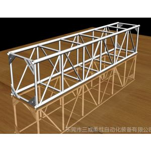 供应铝合金桁架灯光架龙门焊接工装夹具 柔性组合焊接工装夹具