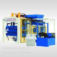 山东宏发供应QT12-15型砌块成型机 制砖机 免烧砖机 水泥砖机