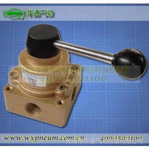 供应华通气动 手动转阀 Q34R8系列 支持底接式与侧接式