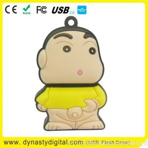 供应usb flash disk 热销蜡笔小新U盘 动漫U盘 卡通U盘 1GB/2GB/4GB