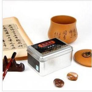 供应今年湖南雪峰毛尖铁盒,沅陵官庄毛尖铁盒规格,五盖山米茶铁罐