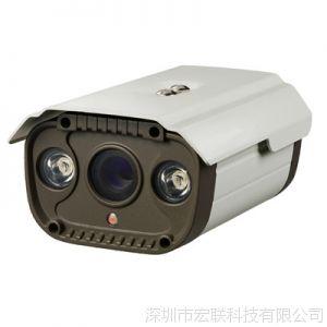 供应双点阵灯高清摄像头 80米红外阵列监控设备 600线枪机夜视摄像机