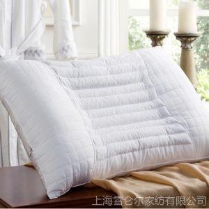 供应康尔馨 柠檬颈椎枕芯 护颈枕 单人双人保健枕头 酒店枕芯枕头