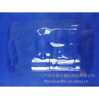 广州越野型自行车头灯包装盒▏越野led灯吸塑包装盒