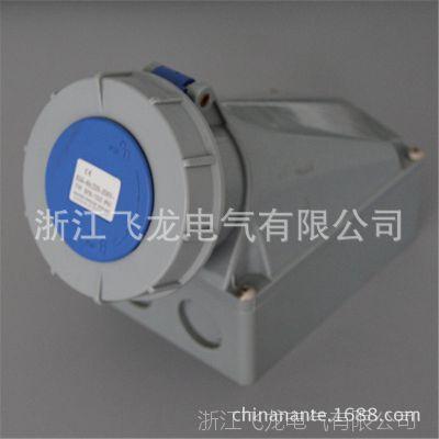 《厂家直销》新型工业防水插座63A3孔 防水明装插座