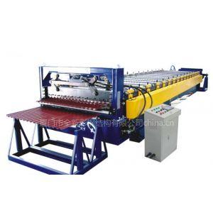 供应供应厦门C型钢机 压瓦机 隐藏式屋面板机