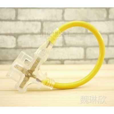 供应出口日本 一分三 摔不烂 带灯插座插板FLD-103A 日本JET PSE认证