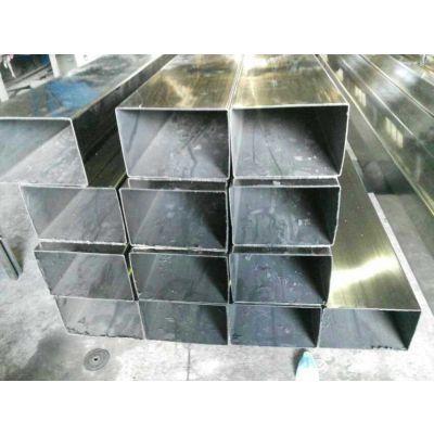 佛山大口径不锈钢方管 工业流体配管 广东304环保设备用方管