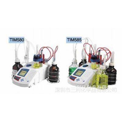哈希TIM58X系列容量法KF水份测定仪|TIM58X水份电位滴定仪