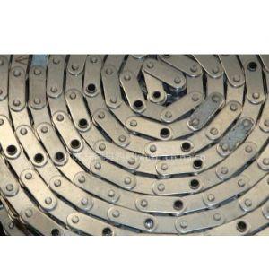 专业不锈钢链条 重载传动用弯板滚子链 自产自销