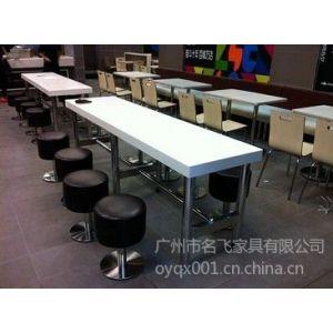 供应供应肯德基真功夫快餐桌椅,中式快餐连锁店专用桌椅