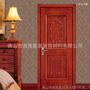 供应年终热卖木门 纯天然实木贴面烤漆门 室内门 套装门 房门标准尺寸