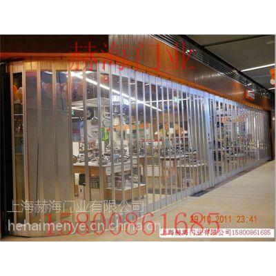 供应折叠水晶门商场水晶专用水晶门水晶门批发