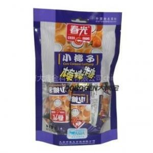 供应海南特产批发 春光棒棒椰子糖60克