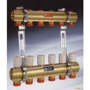 供应批发嘉科米尼分水器 地暖管 温控阀