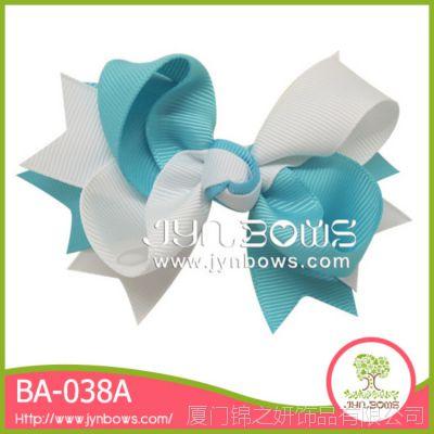 大蝴蝶结儿童发夹 甜美清新发饰 BA-038A加工定制