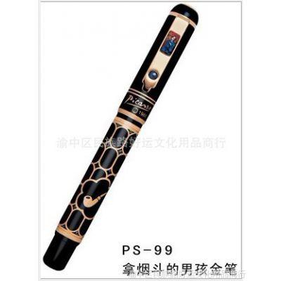 毕加索 PS-99 拿烟斗的男孩金笔 墨水笔 商务笔礼品