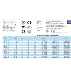 供应德国hummel电缆接头报价PA尼龙塑料