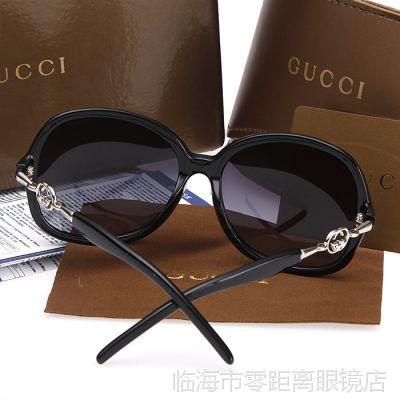 2014新款大框太阳镜女款偏光眼镜防紫外线时尚开车墨镜3084