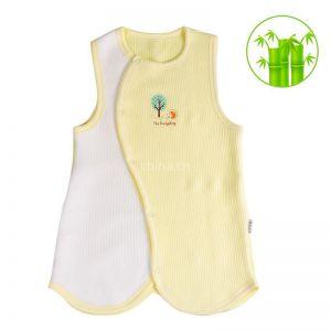 供应龙之涵竹纤维婴儿童睡袋背心式 无袖分腿宝宝睡袋防踢被 夏季薄款