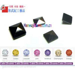 供应电镀锆石 八心八箭锆石批发1.0-3.0mm 锆石专业生产厂家 薄利多销 工商认证商家