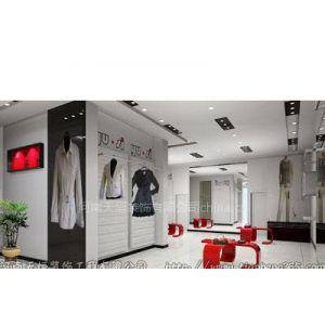 郑州知名服装专卖店装修公司 专卖店装修设计公司 品牌服装店面装修设计