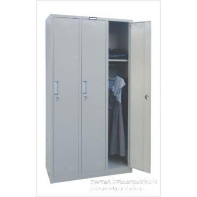 供应金顺铁更衣柜 铁皮更衣柜 多门更衣柜 员工更衣柜 更衣柜尺寸 定做3门更衣柜