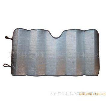 【珍珠棉+铝箔】泡棉遮阳挡,汽车太阳挡前挡,可印刷,电雕版