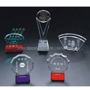 供应有机玻璃奖牌、代理牌、授权牌