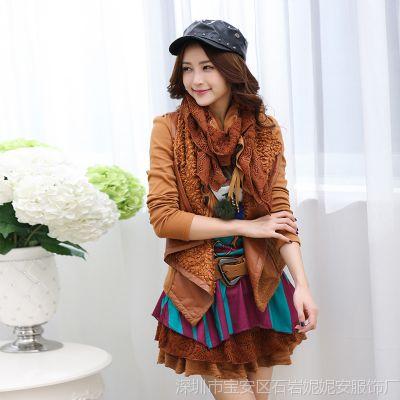 供应妮妮安  新款女装4件套毛呢套装冬季蓬蓬裙子长袖秋冬连衣裙
