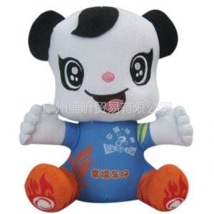 厂家来图定制功夫熊猫公仔 视影动漫公仔 熊猫站姿毛绒玩具