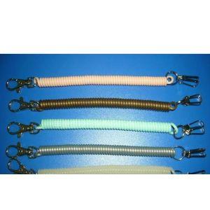 供应塑料弹簧扣,塑料弹簧扣,弹簧失手绳,弹力绳