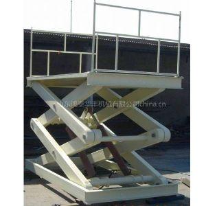 供应剪叉式升降平台固定式升降机导轨式升降货梯