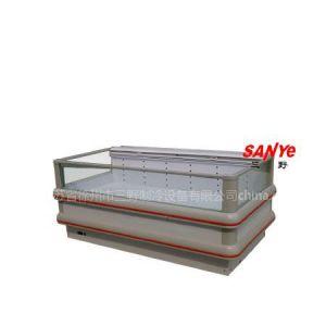 供应B型单出风岛柜  超市冷柜  速冻食品柜