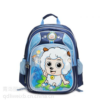 青岛箱包厂供应儿童书包定做、专业订做儿童书包、儿童书包厂家