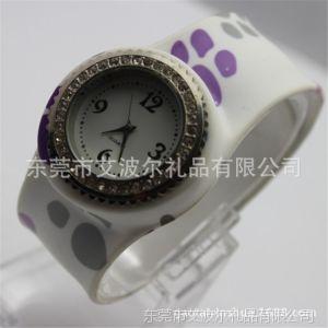 供应艾波尔钟表厂提供硅胶新款圣诞表 韩网表瑞士手表 连卖手表