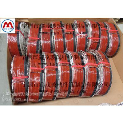 供应宁国鑫茂搭扣式硅橡胶套管 耐高温套管 高硅氧化管
