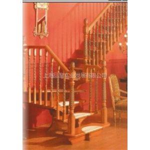 供应品聚楼梯 MOD.101实木楼梯 实木栏杆 实木立柱