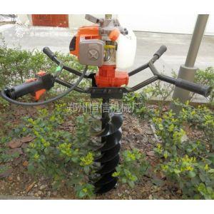 供应山西手提式挖坑机 晋城拖拉机挖坑机价格