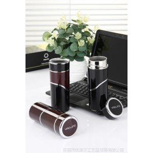 供应耀采3号真空杯 YJ016 黑色/咖啡色|东莞水杯批发厂家|水杯代理商