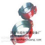 供应丽水钢制卡箍式柔性管接头