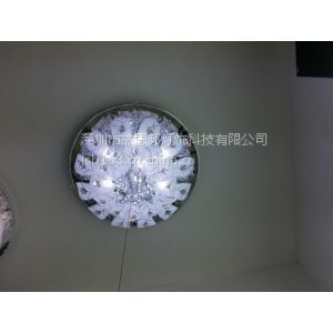 供应现代简约奢华LED水晶灯 客厅灯餐厅灯 卧室书房吸顶灯饰灯具