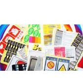 供应东莞特殊溶剂产品的标示卡印刷  印刷加工
