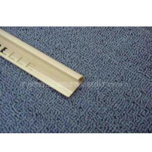 供应PVC修边线 真功夫 半圆 奶油黄KV1302