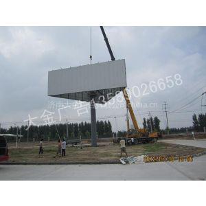 供应单立柱广告牌 加工单立柱 高炮制作 高速单立柱